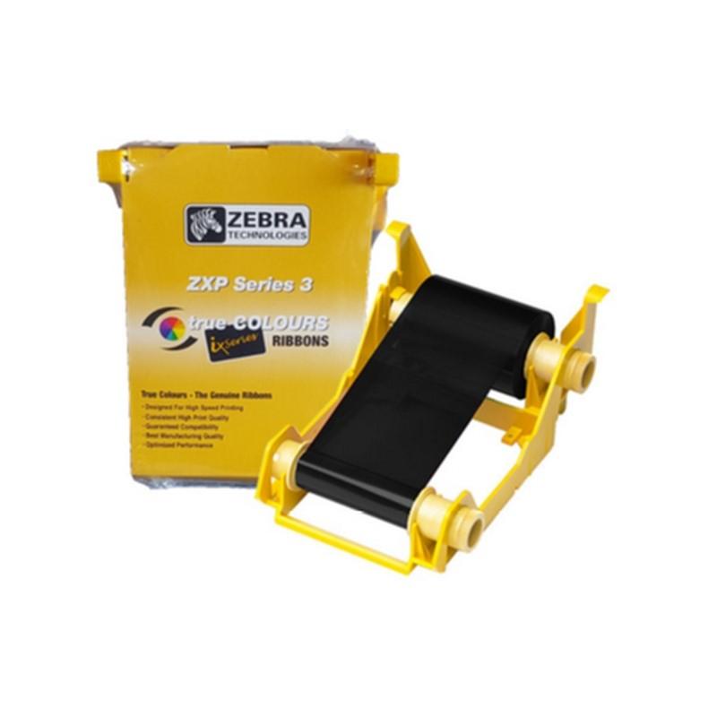 800033-801 - Ruban monochrome noir pour imprimante Zebra ZXP3