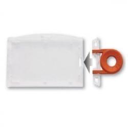 PBR2009-H0 - Porte-badge sécuritaire horizontal, système inviolable