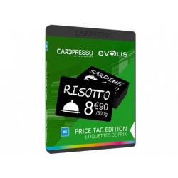 CP1101 - Logiciel Badges Cardpresso étiquettes de prix