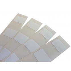 Etiquettes NTAG213 blanche autocollante rectangulaire 15x20mm