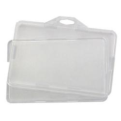 Porte-badge horizontal inviolable cristal - Cardalis
