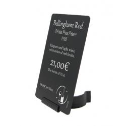 AC000020 - Support Etiquette de Prix - BOUTEILLES