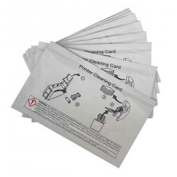 552141-002 - Cartes de nettoyage Datacard, lot de 10 pièces