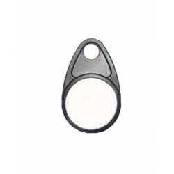 PCRM125KHZ26N-100 - Porte clé noir RFID 125Khz puce EM4200 - Cardalis
