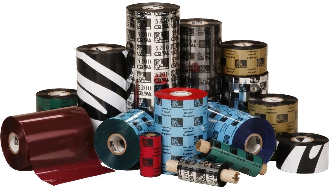 Rubans transfert thermique pour imprimantes à étiquettes Zebra - Cardalis