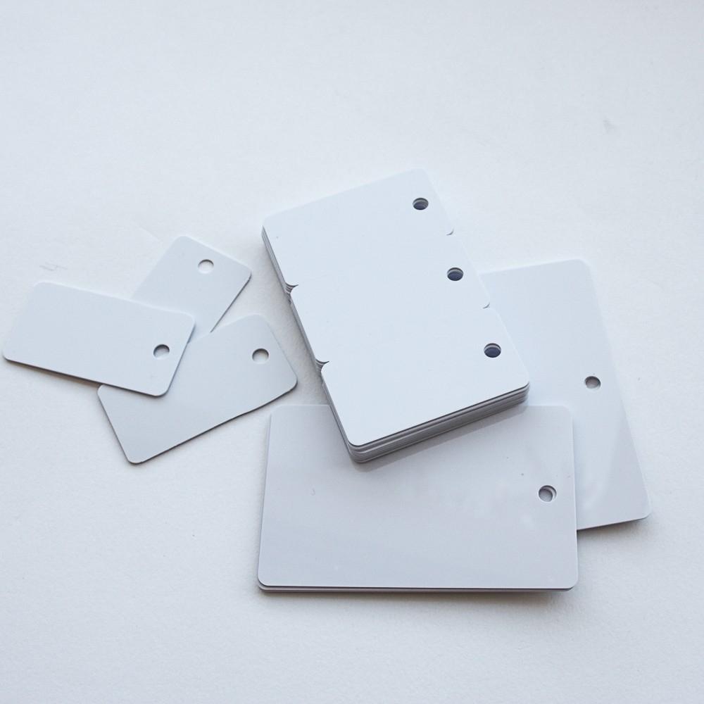 Cartes PVC perforées et sécables - Cardalis