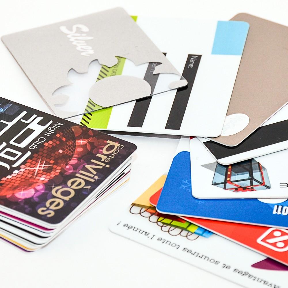 Cartes PVC Pré-imprimées par offset ou sérigraphie - Cardalis