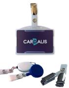Accessoires pour badges PVC et cartes plastiques - Cardalis