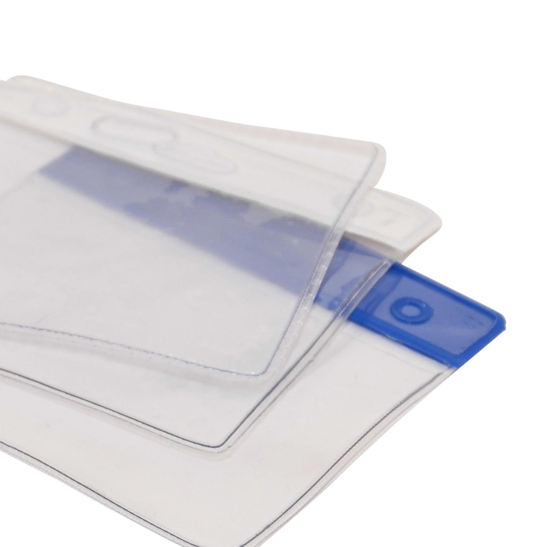 Notre gamme de porte badge souples format vertical et horizontal