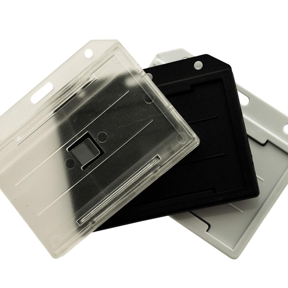Porte-badges rigides pour cartes et badges plastique - Cardalis