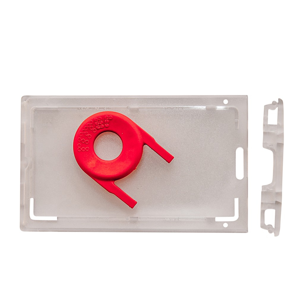 Porte-badges sécuritaires, format 86 x 54 mm - Cardalis