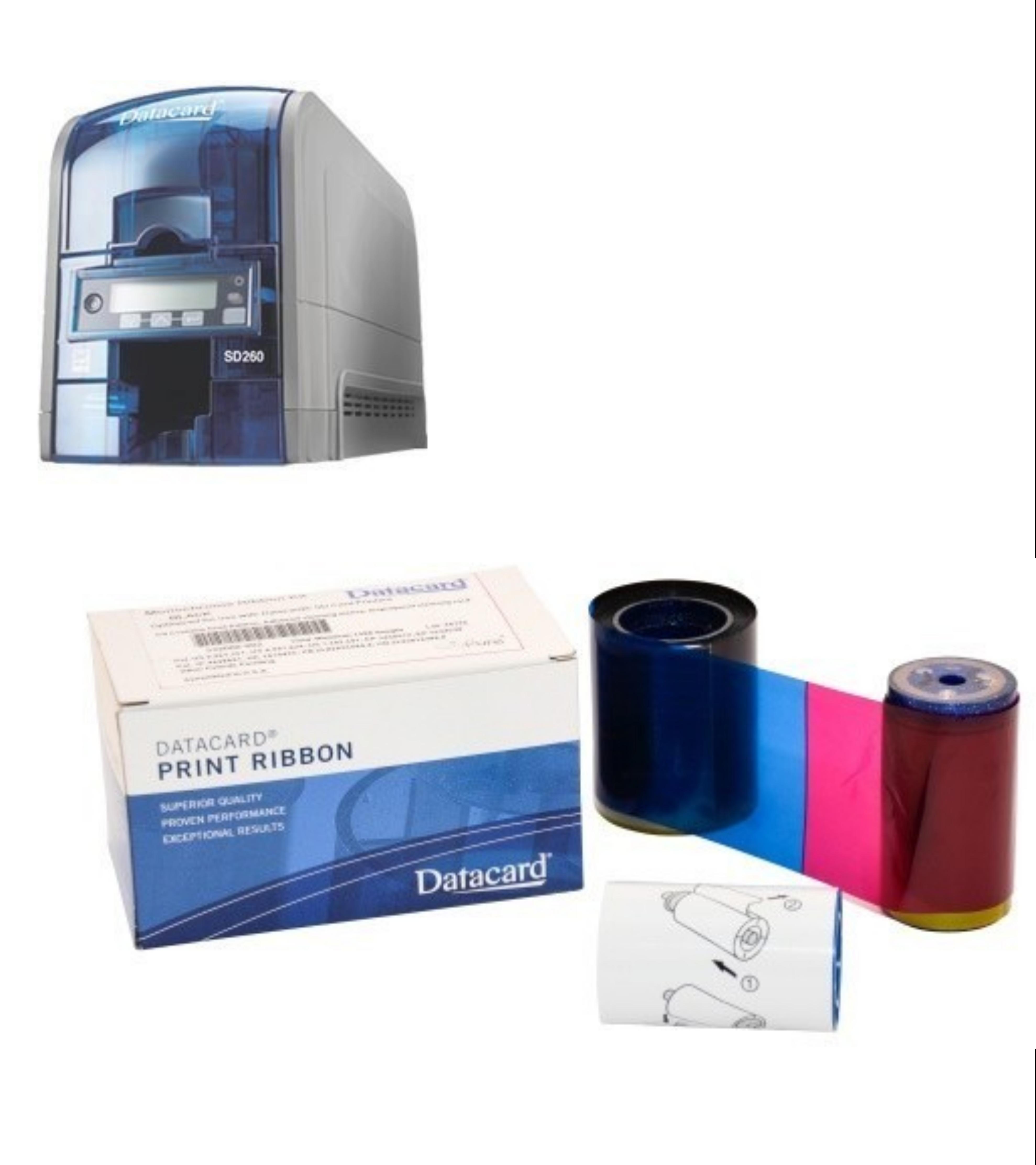 Consommables d'impression Datacard pour SD260 et SD360 - Cardalis