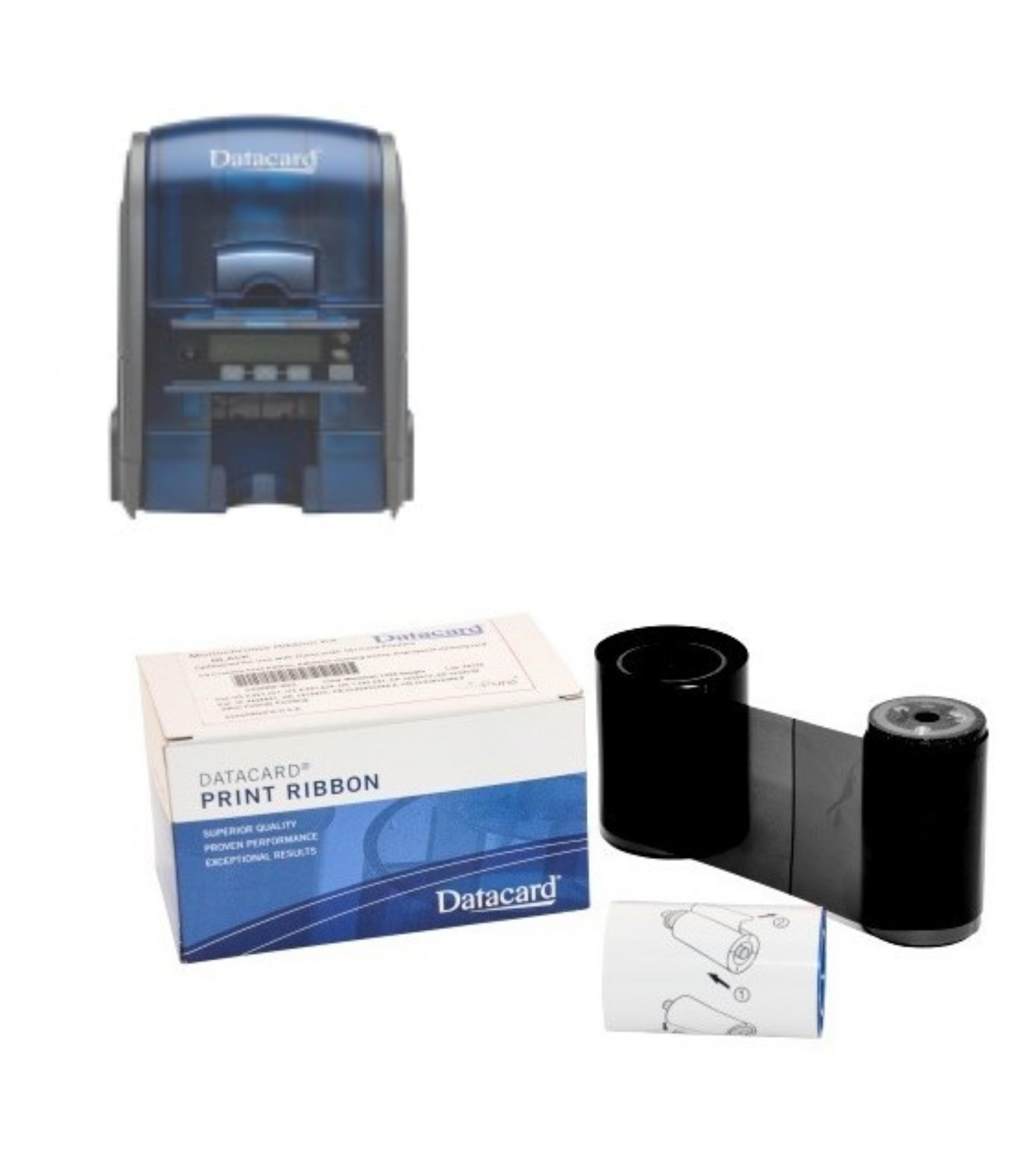 Rubans d'impression couleur et monochrome pour Datacard SD160