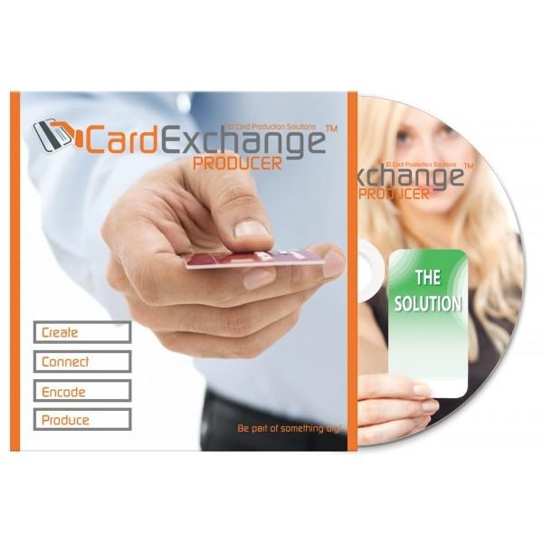 Logiciel de mise ne page de badges CardExchange Producer - Cardalis