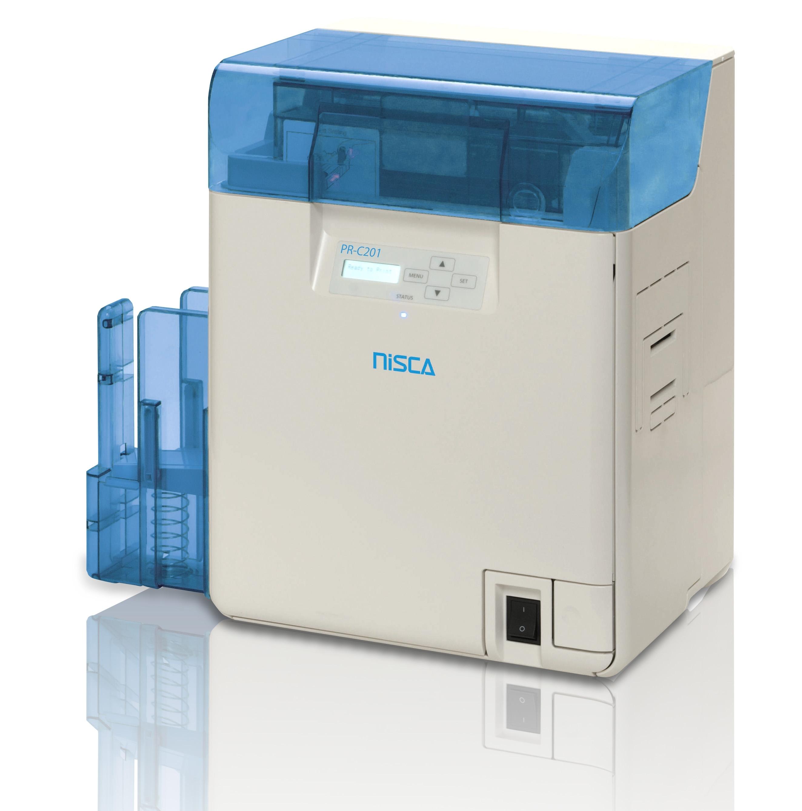 Rubans d'impression couleur et film retransfert pour Nisca PR-C201
