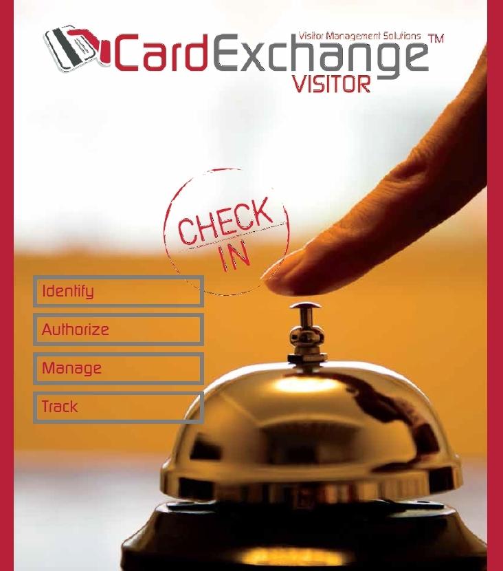 Logiciel de gestion visiteurs CardExchange Visitor - Cardalis
