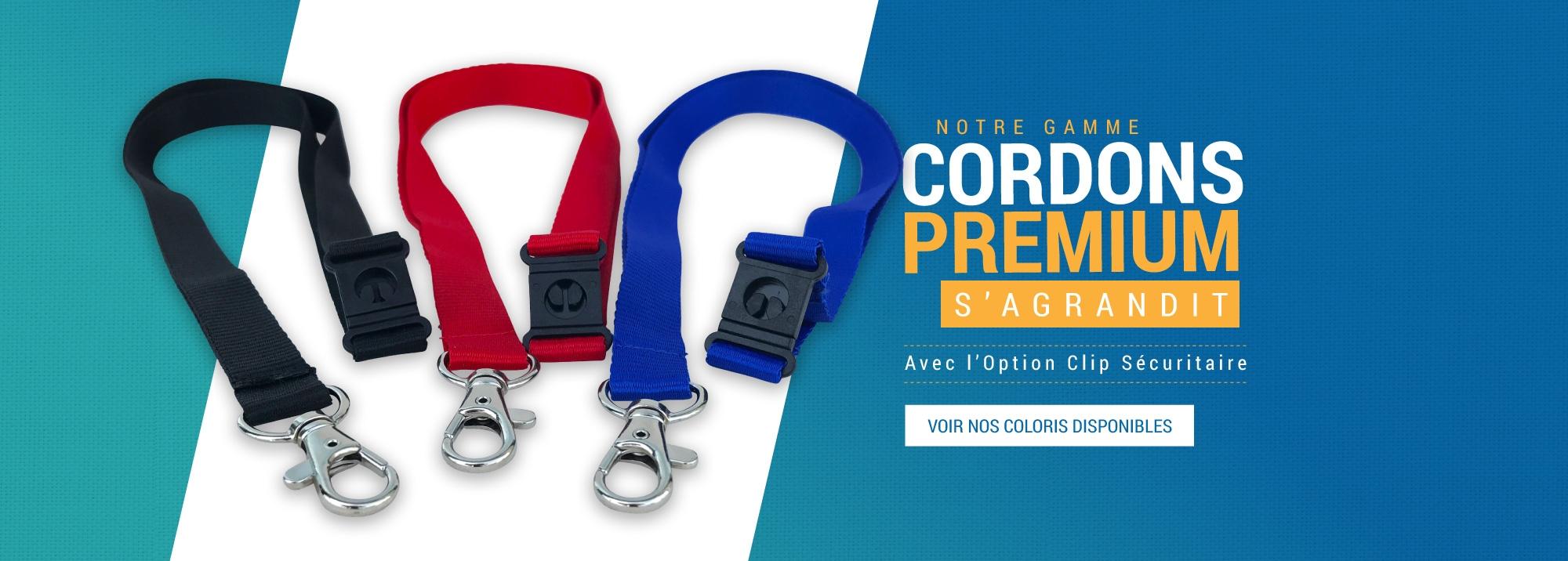Notre Gamme Cordons Premium s'Agrandit